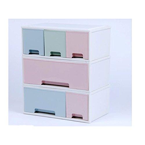 Coffrets de maquillage Type de tiroir Boîte de Rangement cosmétique Commode Bureau cosmétique Soins de la Peau Pinceau de Maquillage Boîte de Rangement Rouge à lèvres (Edition : E)