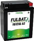 Fulbat - Batería moto Gel YB12AL-A / YB12AL-A2 12V 12Ah