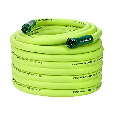 Flexzilla Garden Hose, 5/8 in. x 100 ft, Heavy Duty, Lightweight, Drinking Water Safe - HFZG5100YW