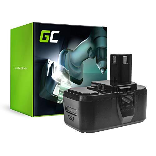 GC (5Ah 18V Li-Ion celdas) Batería para Ryobi OHT1850S de Herramienta Eléctrica