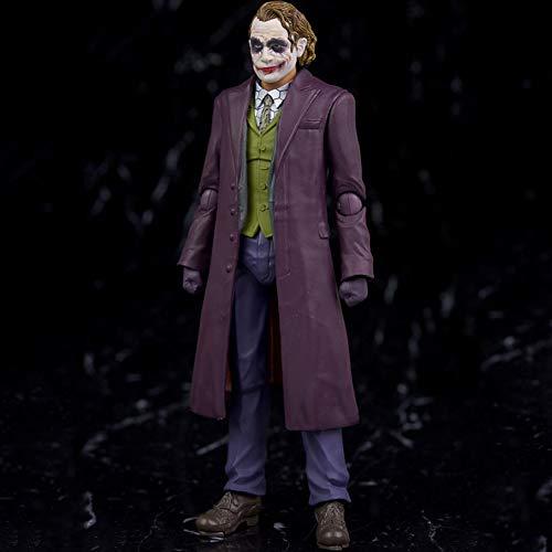 ★ Material: PVC material plástico ★ Joker modelo de personaje animado ★ Tamaño: 15 CM ★ Características: adornos móviles ★ Esta es una buena opción al momento de elegir un regalo. Adecuado para niños o amigos.