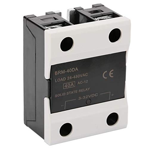 WNJ-TOOL, 1pc BRM-40Da Last 24-480VAC Solid State Relais for die Industrieautomation Prozess Highly Reliable Solid State Relais