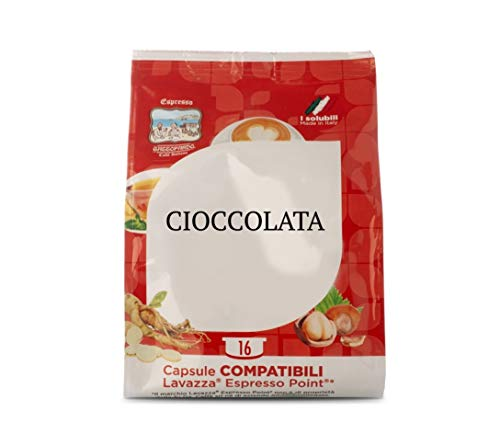 128 Capsule di Cioccolata - Comp. Lavazza Espresso Point - Gattopardo
