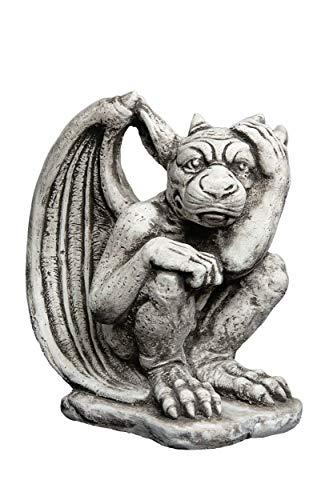 gartendekoparadies.de Herrlicher Gargoyle Torwächter aus Steinguss, frostfest
