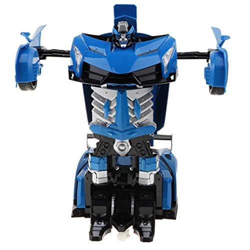 hndfhblshr Accessorio per Pezzi di Ricambio RC Scala 1: 12 Macchinine Giocattolo RC elettroniche Rilevamento dei gesti Trasformazione Robot Action Figures, Radiocomando Walking