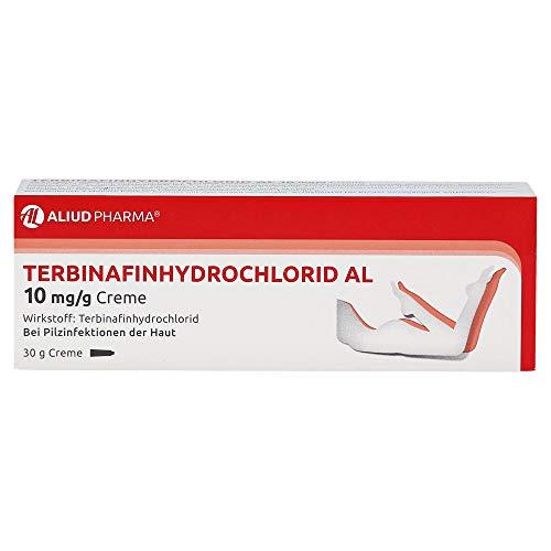 TERBINAFINHYDROCHLORID AL 10 mg/g Creme 30 g