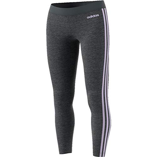 adidas Damen Essential 3Streifen Tights, Dgreyh/Prptnt, XL