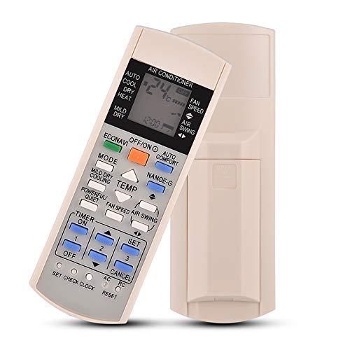 Eboxer Telecomando per climatizzatore Panasonic, Telecomando sostitutivo per climatizzatore A75c3300 A75c3208 A75c3706 A75c3708