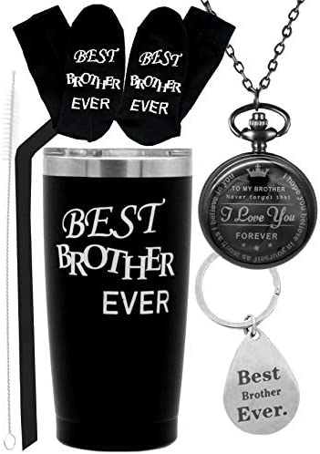 Best Brother Ever Tumbler Best Brother Mug Best Gifts for Brother Birthday Gift for Brother product image