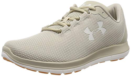 Under Armour Remix, Zapatillas de Running Hombre, Marrón (Khaki Base/Summit White/Summit White (200) 200), 42.5 EU