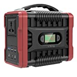 UKing Portable Power Generator 222Wh/60000mAh Power Station Power Supply with DC/AC Inverter Charged