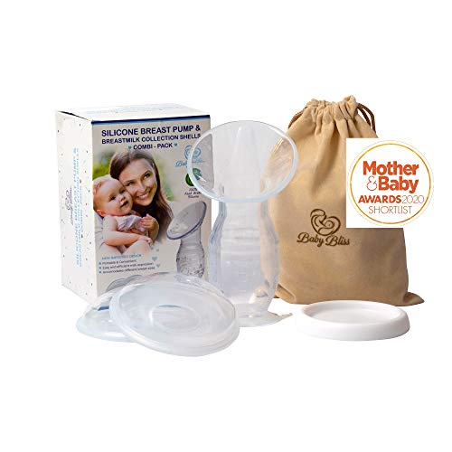 Baby Bliss Silicone Breast Pump