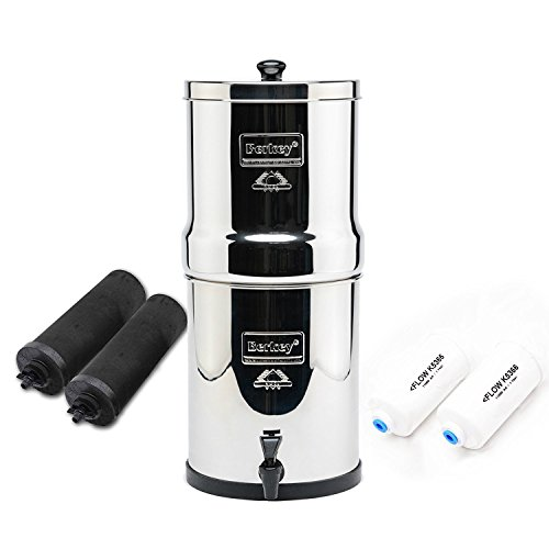 Travel Berkey Water Filter  - Key Features