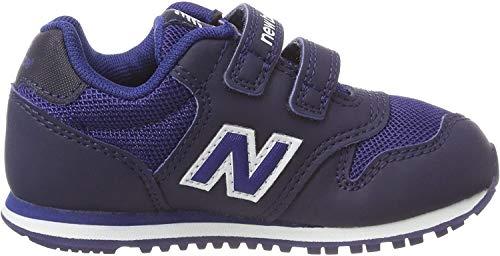 New Balance Unisex-Kinder 500 Sneaker, Blau (Navy/Blue Bb), 27.5 EU