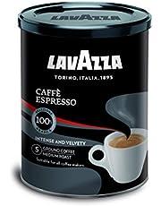 Lavazza -ESPRESSO gemalen koffie in blik - Ideaal om te delen met vrienden - 250 g espressosmaak