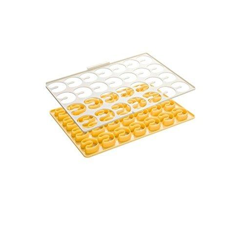 Tescoma Ausstecher, weiß/gelb, 33 x 23 x 2