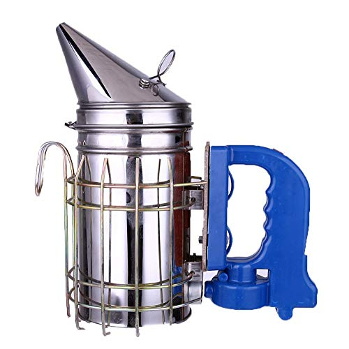 Equipment Tools - Stainless Steel Electric Bee Smoker Apiculture Beekeeping Equipment - Lawn