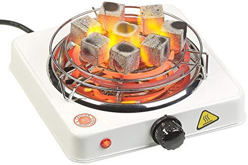 Duvence Kohlegrill Shisha: Elektrischer Kohle-Anzünder für Shisha, mit Kohlegitter, 1.000 Watt (Shisha Kohle Grill)