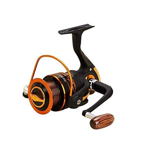 FUJGYLGL Carrete de Pesca, Aparejos de Pesca sin separación Carretilla de Pesca de aleación de Zinc Carrete de Pesca Rueda de Hilado Número de Eje de Rueda 12 + 1BB (Color : 1000)
