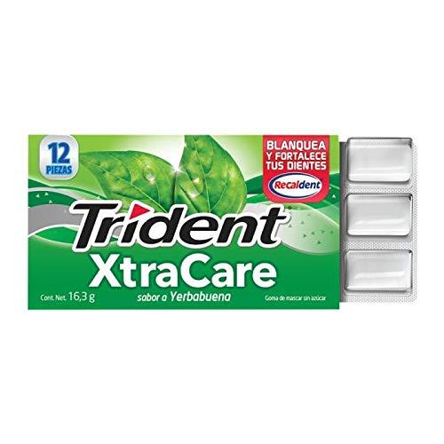 Trident, Xtra Care 12'S Yerbabuena, 195.8 Gramos