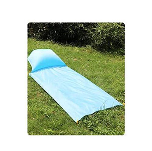 XIAOFANG 1-4 Personas Sofá Inflable de la Bomba Portátil Impermeable Camping Matear con colchón de Aire al Aire Libre Picnic Picnic Bolsa Perezosa (Color : One Seat)