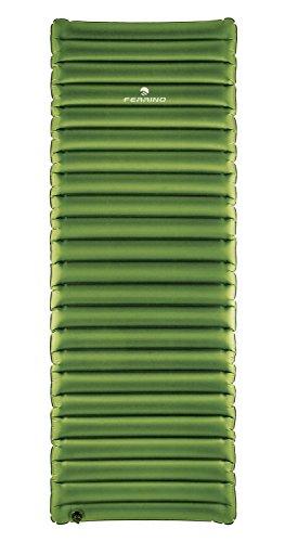 Ferrino Swell Sleep, Materassino Gonfiabile, Tessuto in Poliestere Unisex, Verde, 193x70x9,5 cm