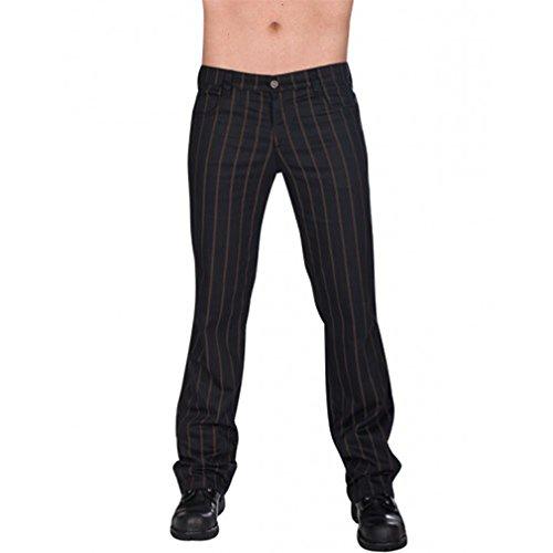 Aderlass Jeans Hose - Steampunk Pin Stripe 38