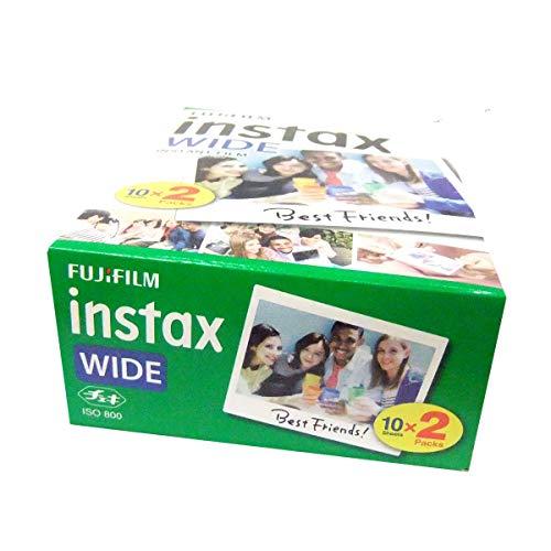 Fuji Fujifilm Instax Wide Instant Photo 60 Film for Instax Wide 210 200 100 300 Camera