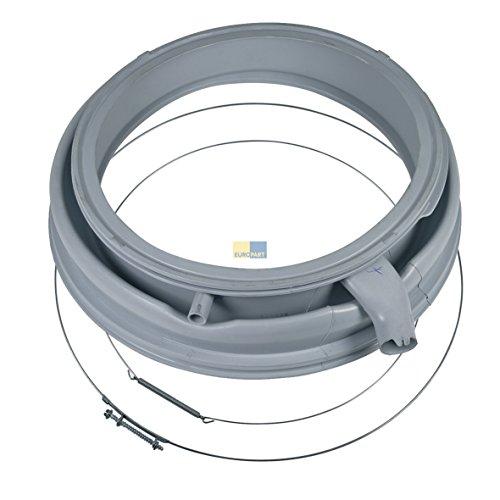 Bosch Siemens 00702576 702576 ORIGINAL Türdichtung Türmanschette Bullaugendichtung Gummimanschette Trommeldichtring mit Spannring vorne hinten Waschmaschine Waschautomat Waschgerät