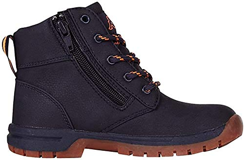 Kappa Unisex-Kinder Cammy Kurzschaft Stiefel, Blau (6744 navy/orange), 40 EU