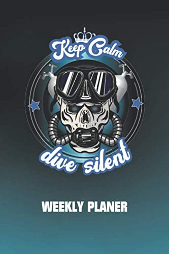 Rebreather Weekly Planer - Dive Silent: Weekly Planer, To Do List and enough space for notes