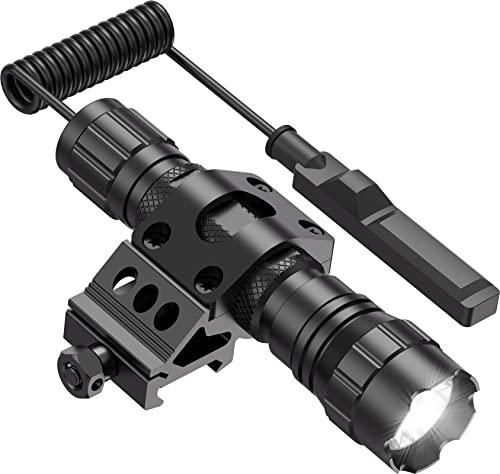 Feyachi FL11-MB Tactical Flashlight 1200 Lumen Matte Black LED Weapon...