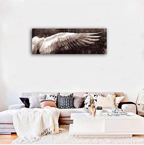 サービス Faicai 安心の実績 高価 買取 強化中 Art Vintage Taupe Brown Angel Poster Wall Wings A Pop