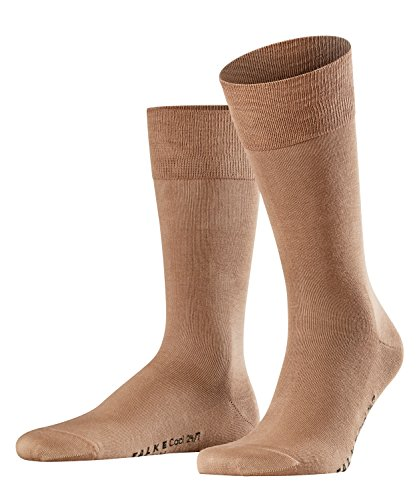 Falke Herren Socken Cool 24/7 M SO- 13230, 1er Pack, Beige (Kamelhaar 4243), 43-44