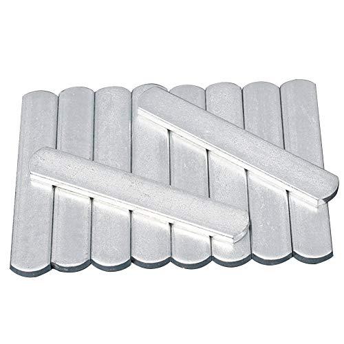 Fayeille - Chaleco lastrado con placas de acero, peso de entrenamiento de fuerza antioxidante ajustable, placa de acero con cabeza redonda para cargar las piernas chaleco con peso
