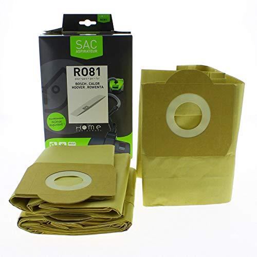 Home Equipement RO81 Aspirateur Sac Sac Papier Rowenta Zr 81 Bully / X3