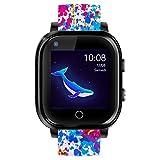 Infinite Watch - iKids - Montre connectée Enfant - 4G - GPS précis - Thermomètre intégré (Bluedy)