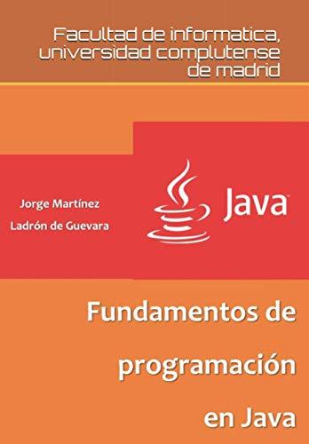 Fundamentos de programación en Java
