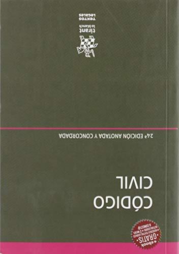 Código Civil 24ª edición 2019 Anotada y Concordada (Textos Legales)