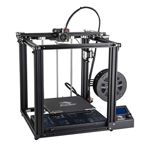 LINDANIG 3D Imprimante V1.1.4 Grande Taille Mainboard Cmagnetic Power Plate Off Reprise fermée Structure Creality3D (Couleur : Noir)