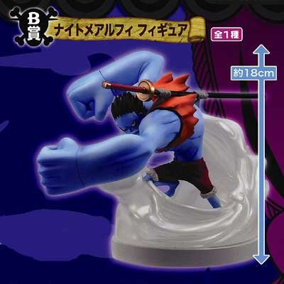 Loterie One Piece Thriller Bark Poule B Monkey D Luffy prix le plus (Nightmare Ver.) (Japan import)