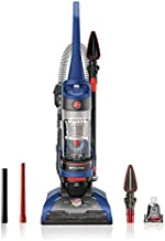 Hoover WindTunnel 2 Whole House Rewind Corded Bagless Upright Vacuum Cleaner with Hepa Media Filtration,UH71250, Blue