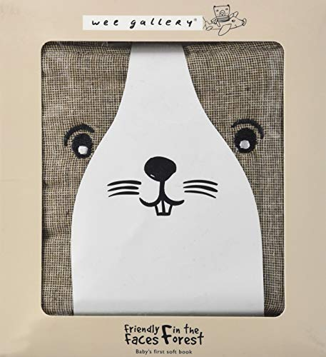 Friendly Faces: In the Forest: Baby's First Soft Book (Wee Gallery Cloth Books)