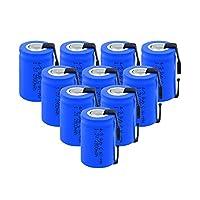 充電式電池 溶接ニッケルシートを備えた充電式1.2V2800Mahニッケル水素電池。1.2V10個