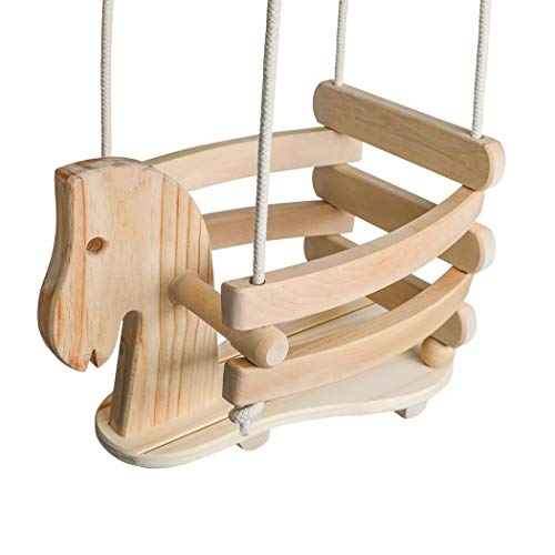 Homewear Horse Shaped Infant Swing (2431)