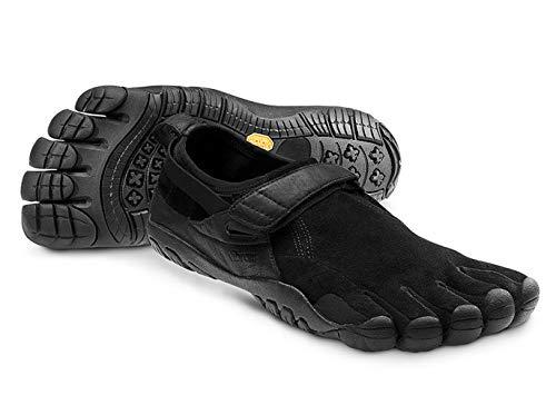 Vibram Five Fingers Men's KSO Trek Trail Hiking Black Shoe (8.5-9)