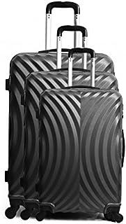 14fbf278fb Set de 3 valises ABS - Coques rigides - 4 roues 50-60-70