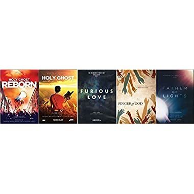 Darren Wilson DVD Collection 5 Pack - Holy Ghost Reborn, Holy Ghost, Father of Light, Furious Love and Finger of God by Darren Wilson