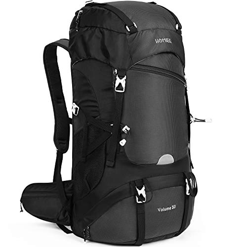 BWBIKE Hiking Backpack Climbing Trekking Rucksack 65L Internal Frame Camping /& Hiking Backpacks with Extra 5L Capacity for Outdoor Sports