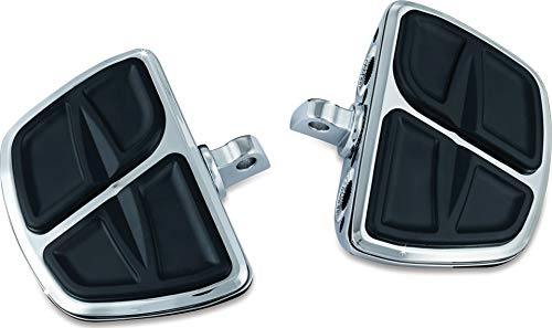 Kuryakyn 7610 Motorcycle Accessory: Kinetic Mini Board Floorboards with Male Mount Adapters, Chrome, 1 Pair